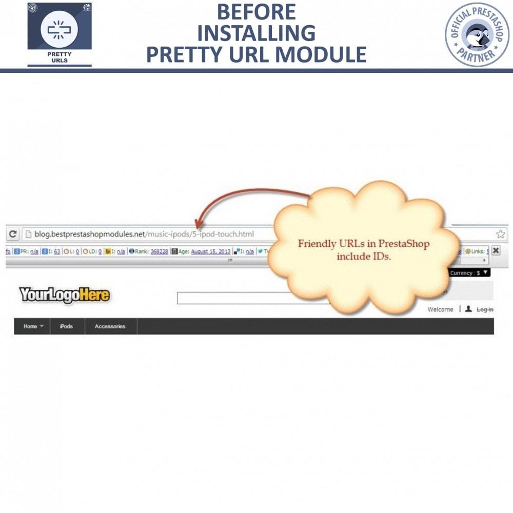 module - URL & Redirects - Pretty URLs - SEO Friendly URL | Remove IDs & Numbers - 9