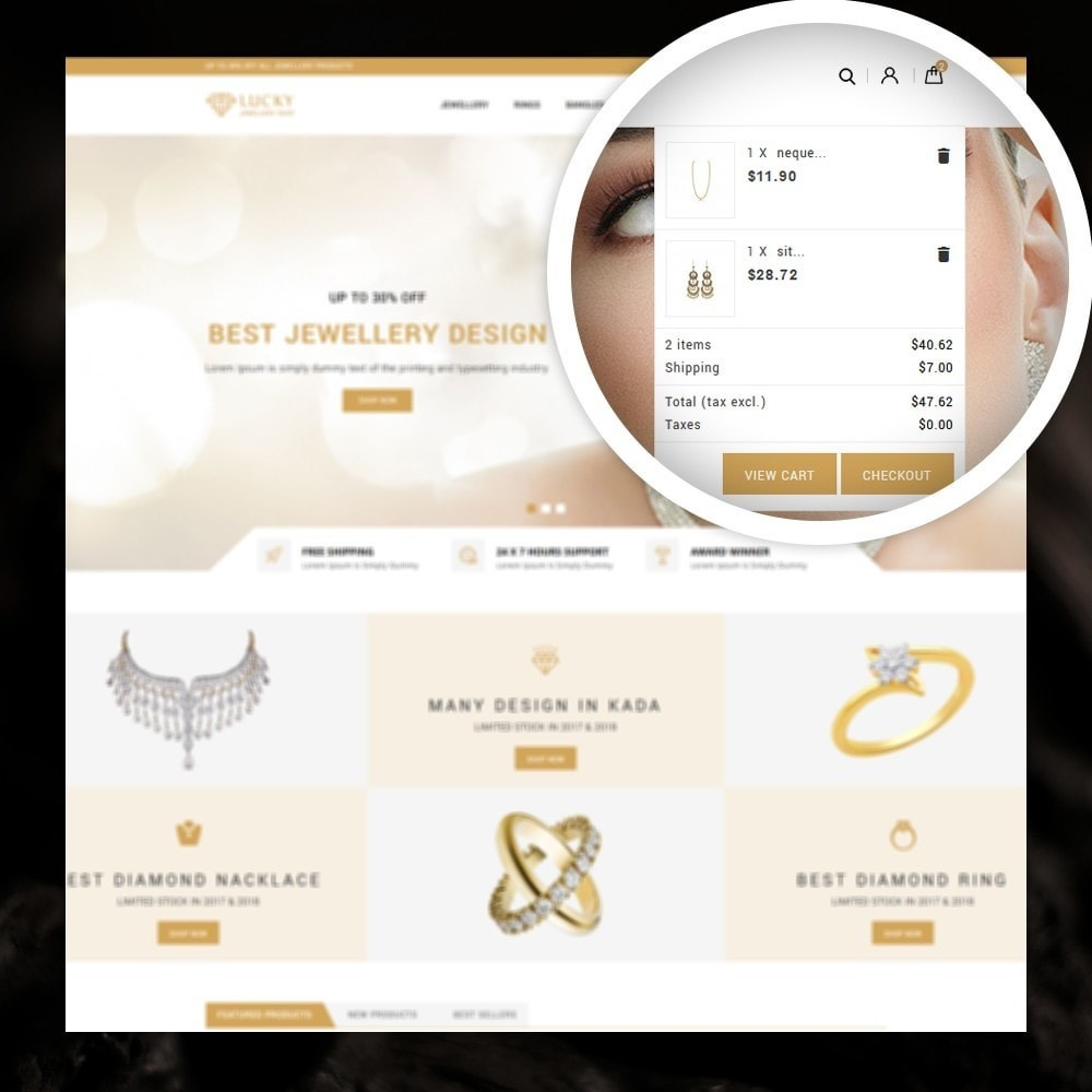 theme - Schmuck & Accesoires - Lucky - The Jewelry shop - 6