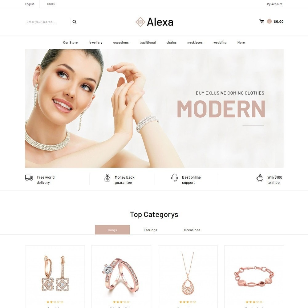 Alexa - The Jewelry Shop