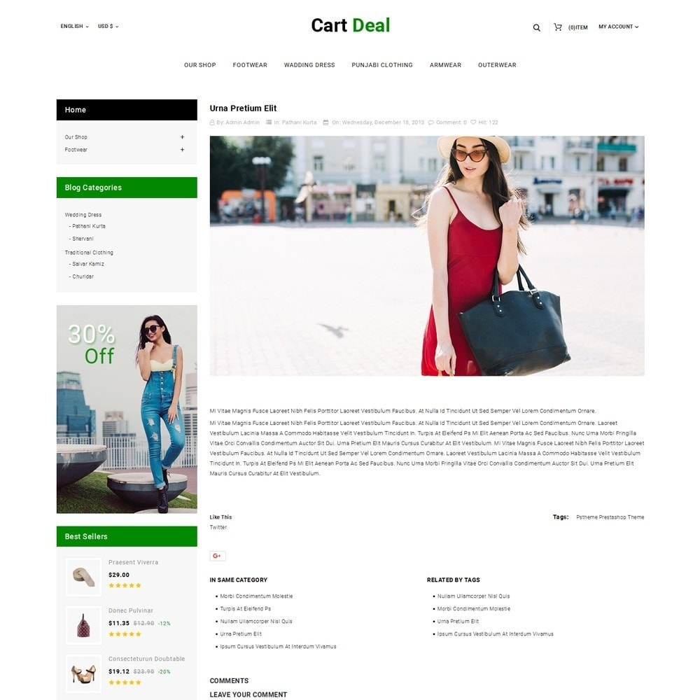 theme - Fashion & Shoes - Cart Deal - The Fashion Store - 7