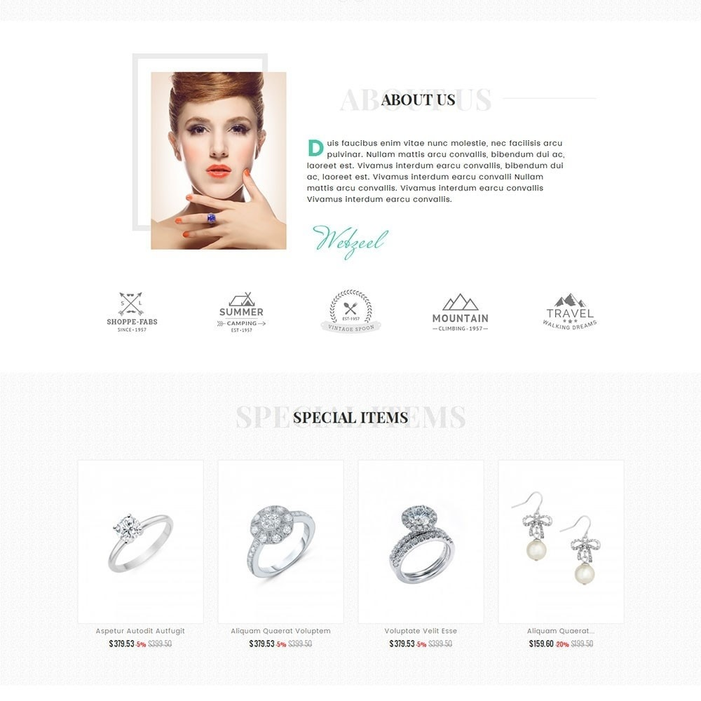 Modern Jewelry Store