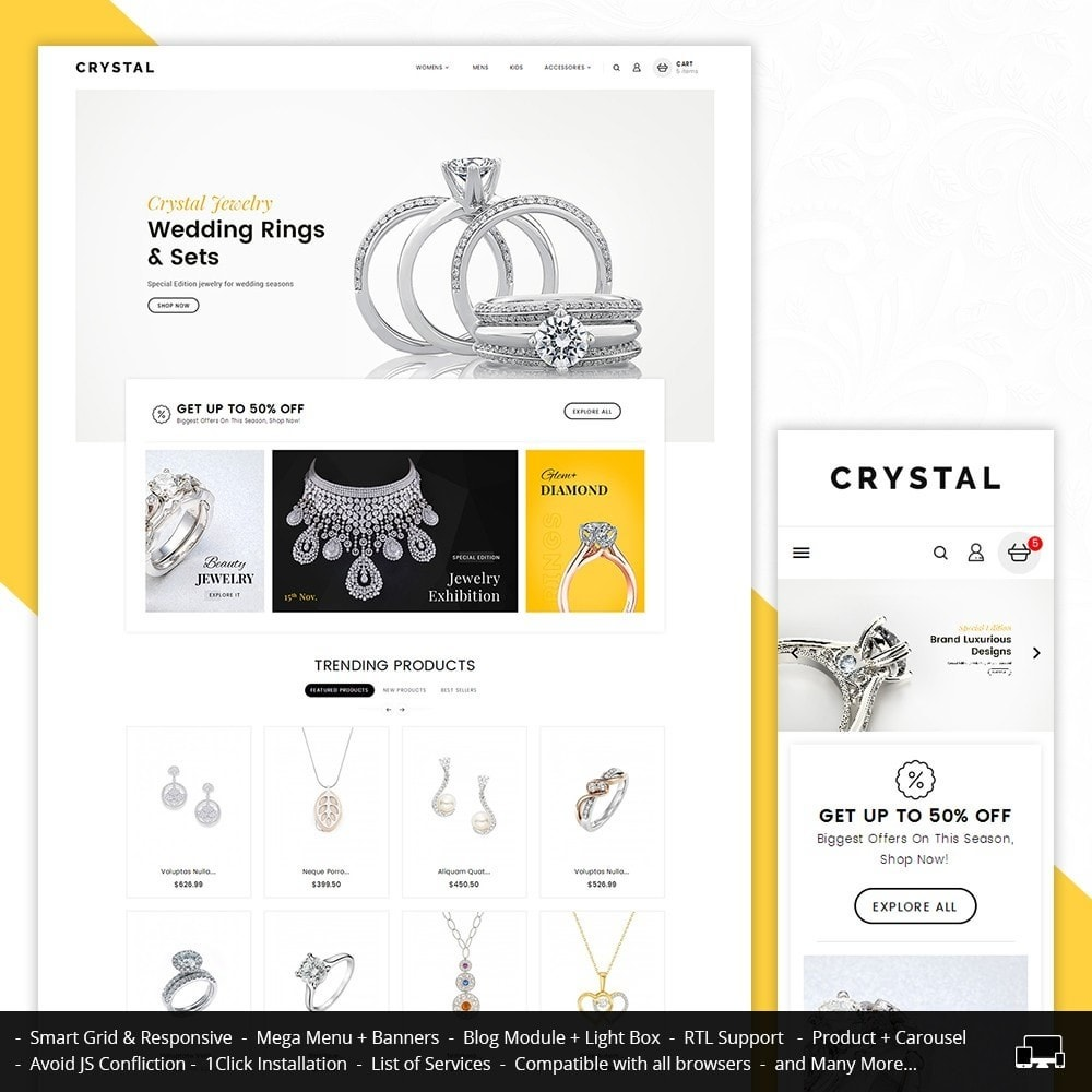 Crystal Jewelry Store