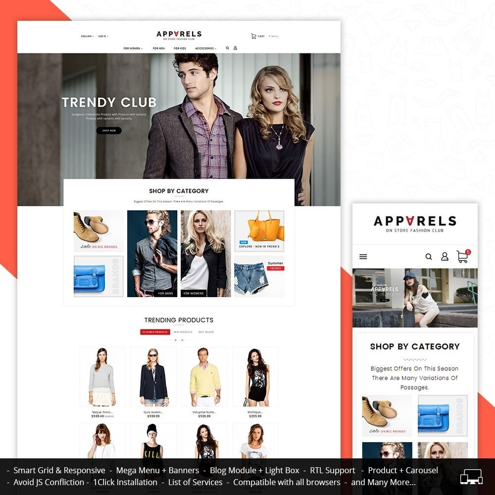 Apparels Fashion Store