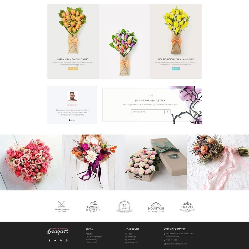 theme - Gifts, Flowers & Celebrations - Flower Store - 4