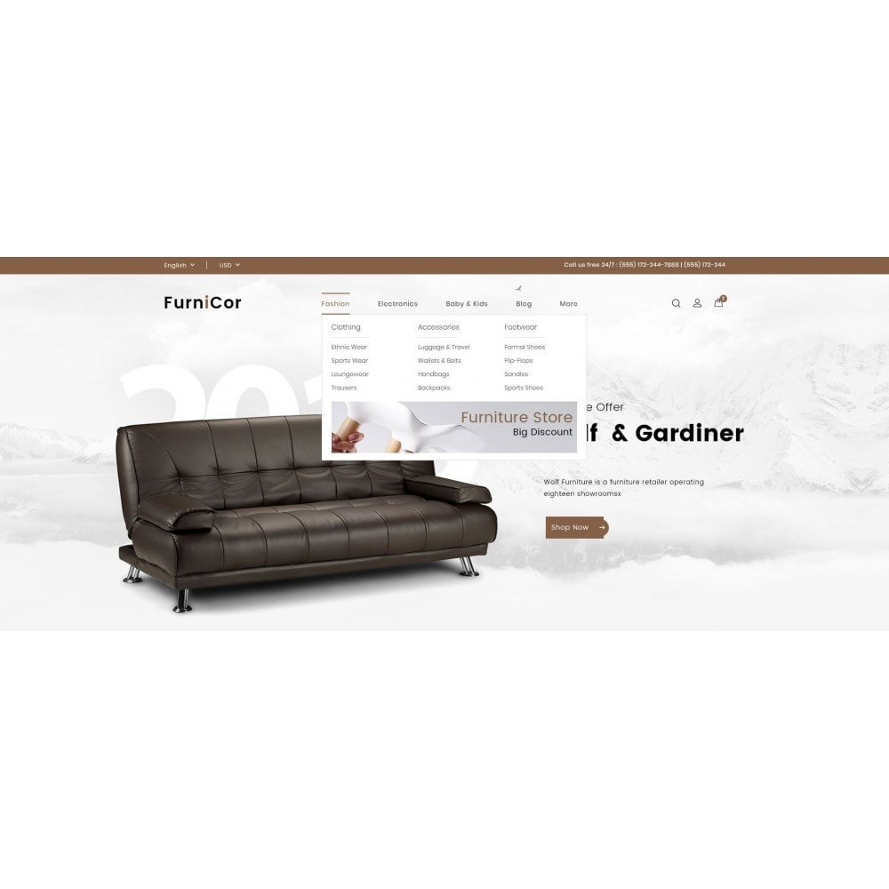 theme - Home & Garden - Furnicor - Furniture Store - 6