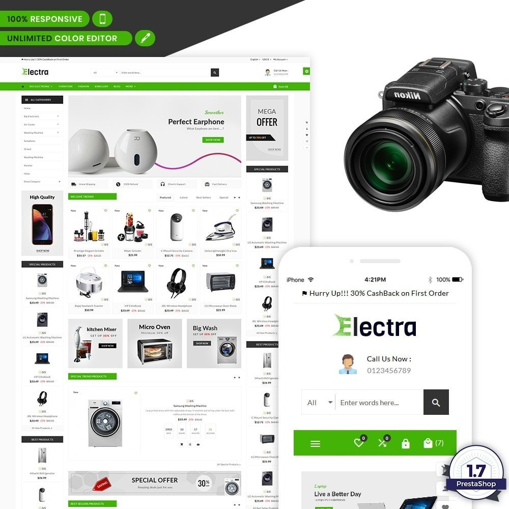 Electra – The Big Electronic Store