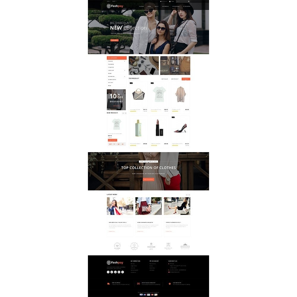 theme - Mode & Schuhe - Fashpay Fashion Store - 2