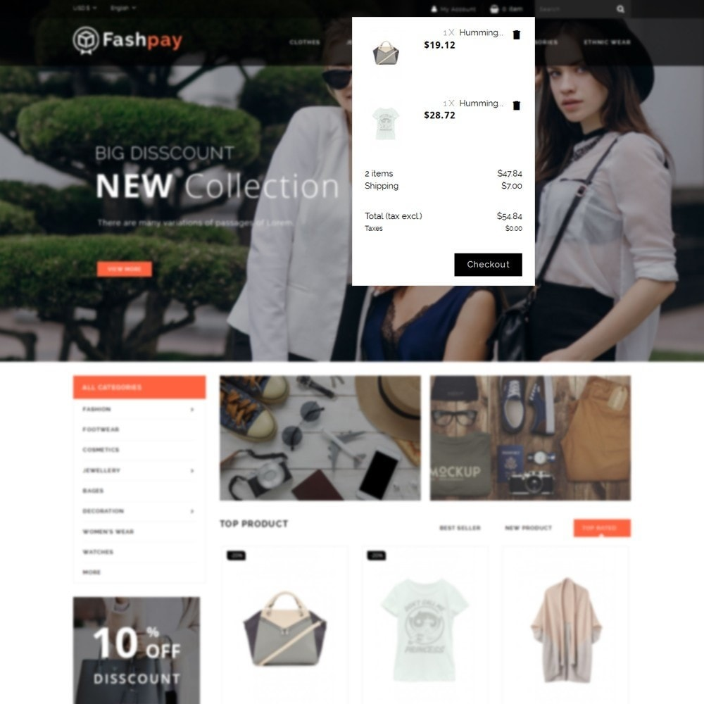 theme - Mode & Schuhe - Fashpay Fashion Store - 8