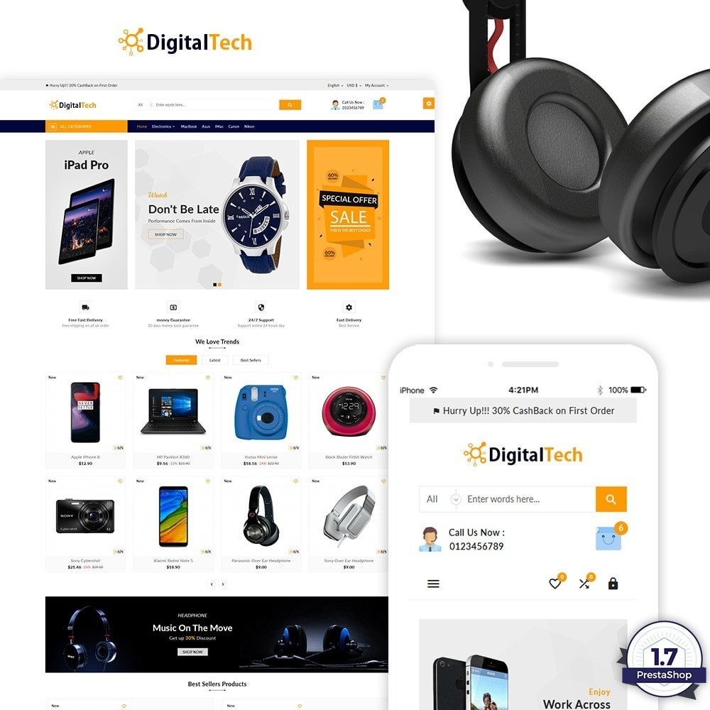 Digital Tech - The Electronic Shop