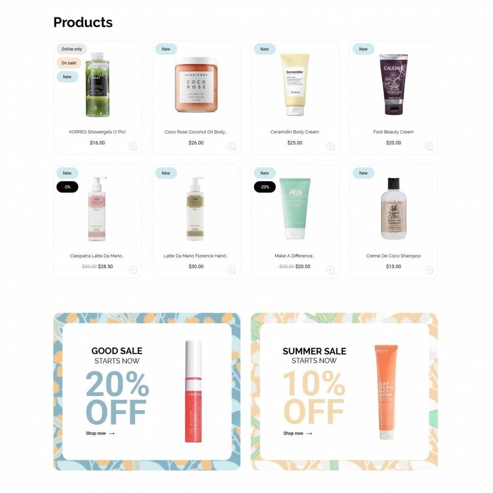 theme - Health & Beauty - FlowerCosmetology Cosmetics - 3