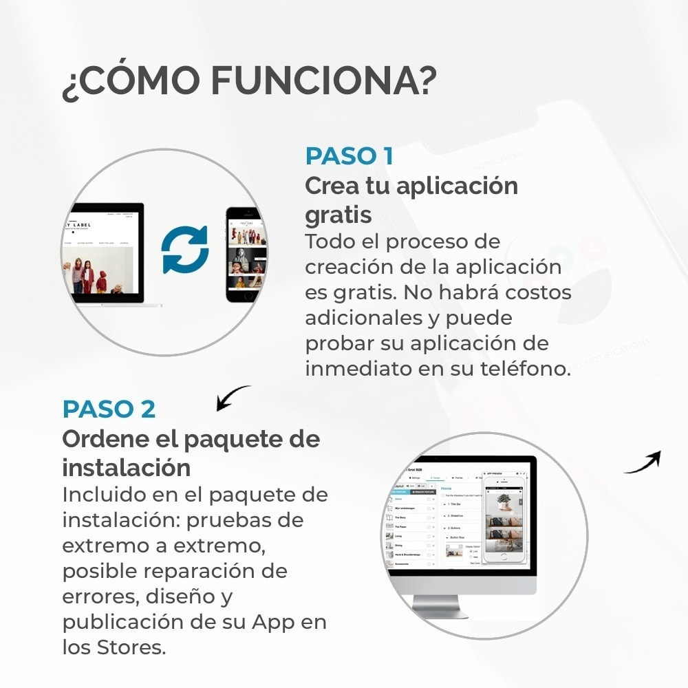 module - Dispositivos móviles - Constructor de App JMango360 - 3