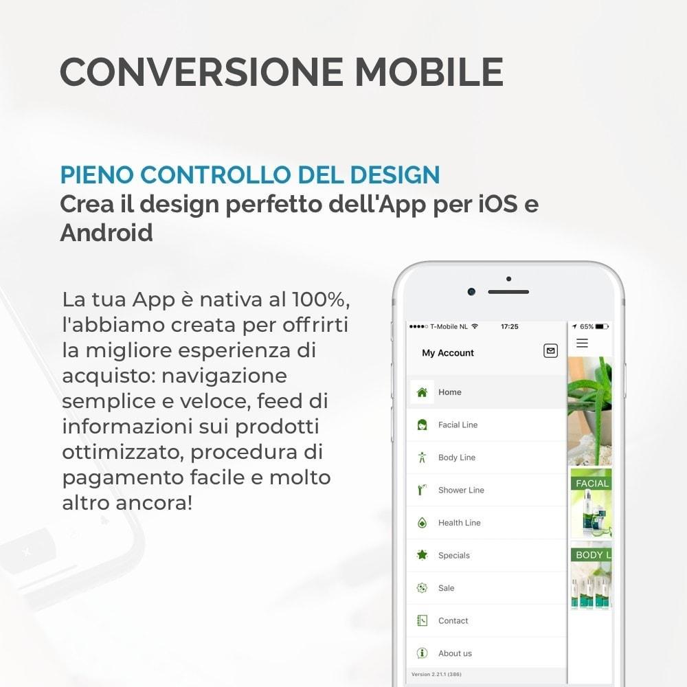 module - Dispositivi mobili - Costruttore App JMango360 - 8