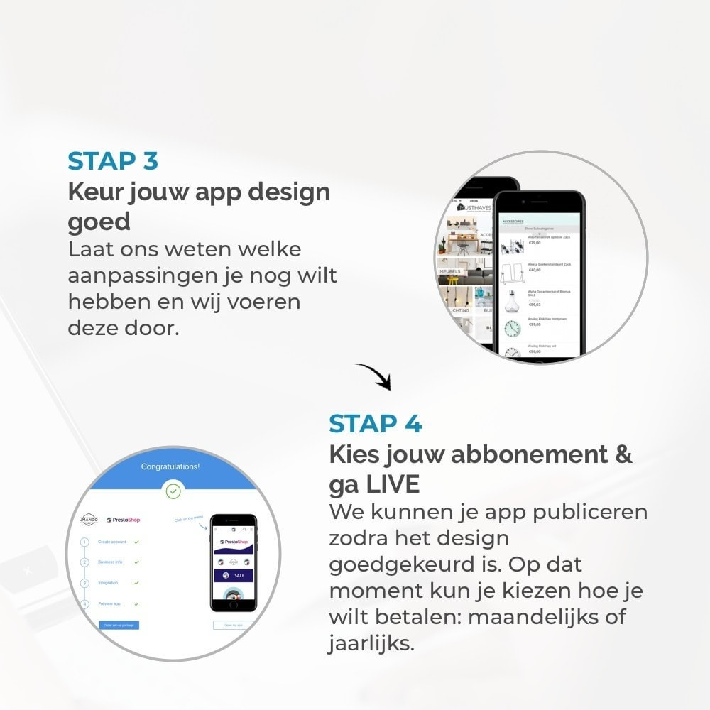 module - Mobiele apparaten - JMango360 Mobile App builder - 4