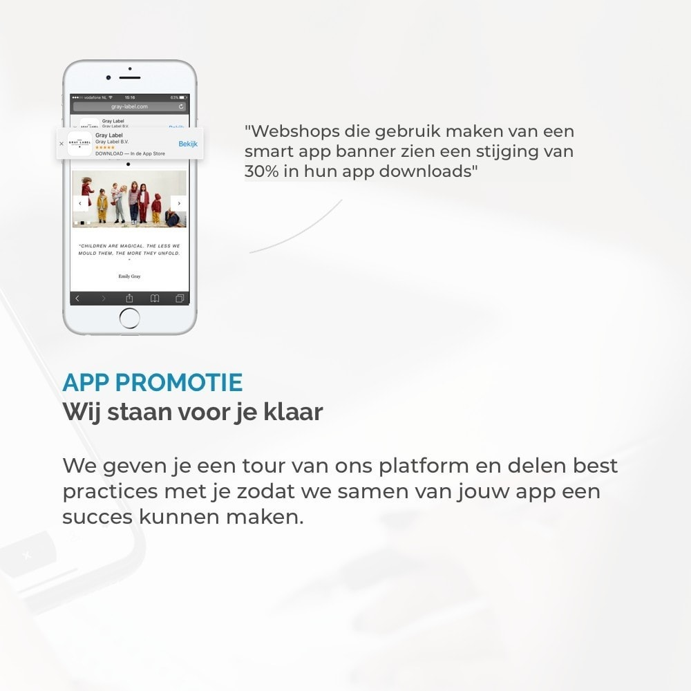 module - Mobiele apparaten - JMango360 Mobile App builder - 12