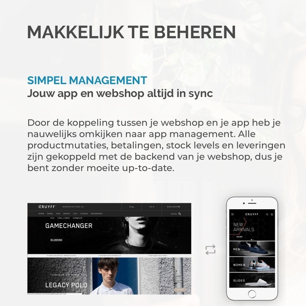 module - Mobiele apparaten - JMango360 Mobile App builder - 13