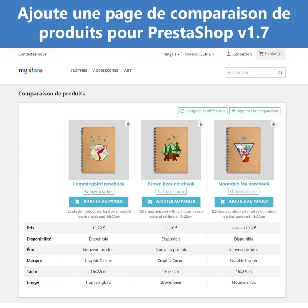 module - Comparateurs de prix - Comparaison avancée des produits - 2