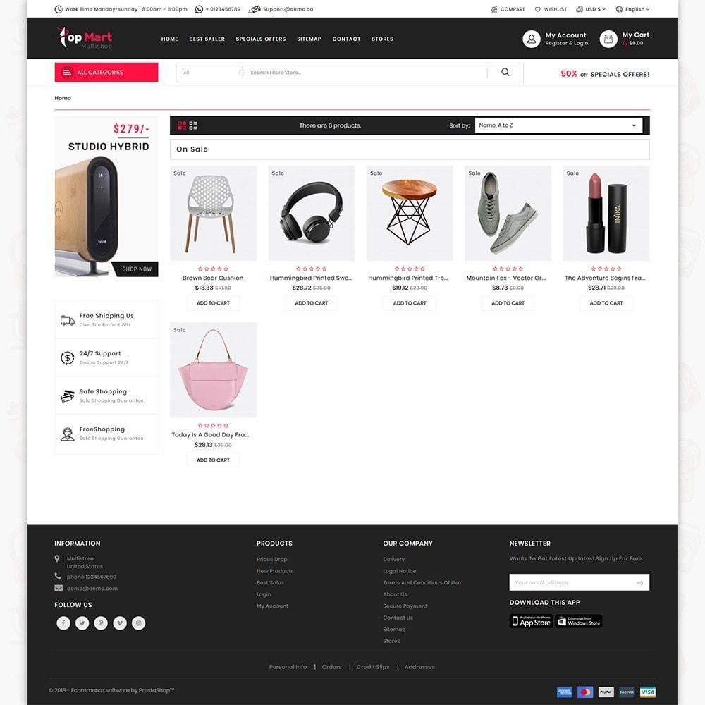 TopMart - Online Shopping Trade