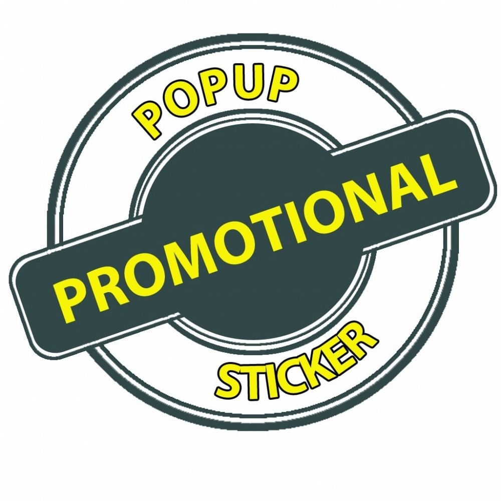 module - Promotions & Gifts - Promotional Popup Sticker - 2