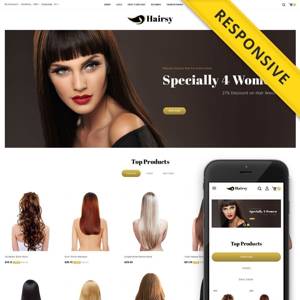 Hairsy - Salon Store
