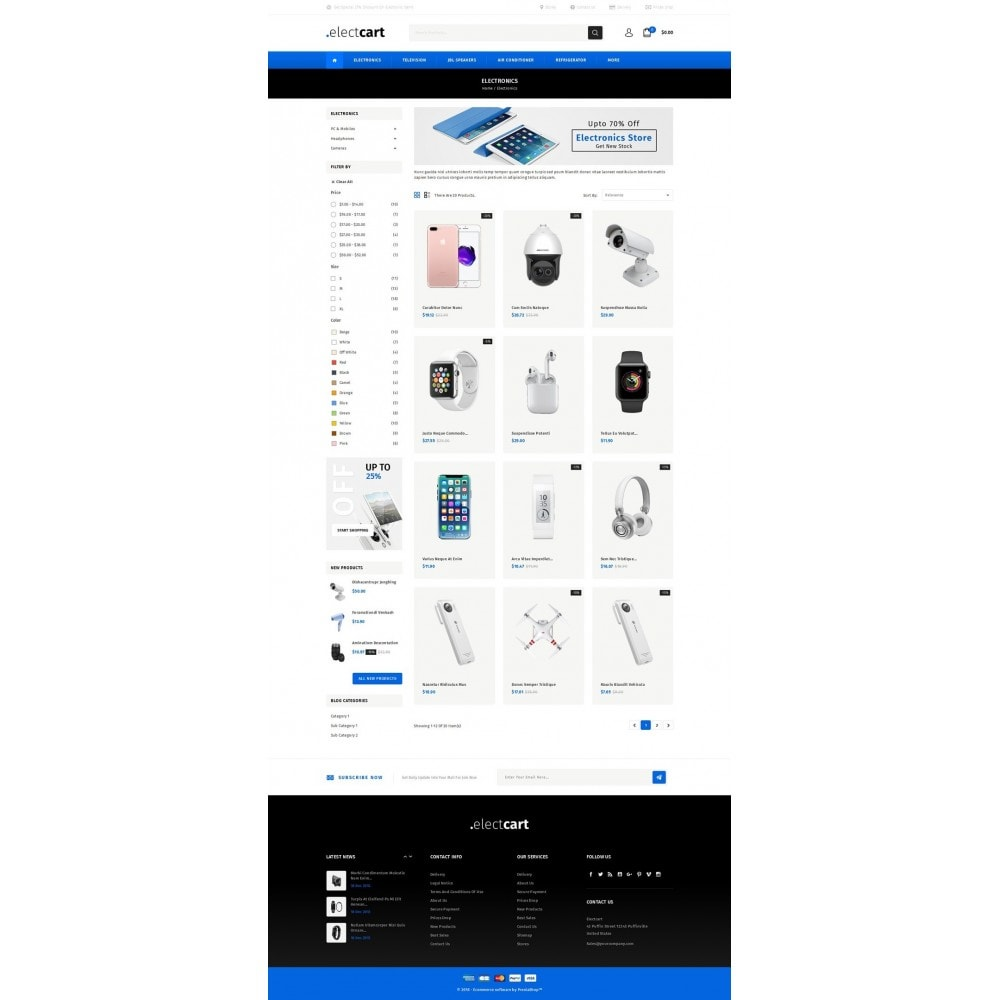 ElectCart - Multipurpose Store