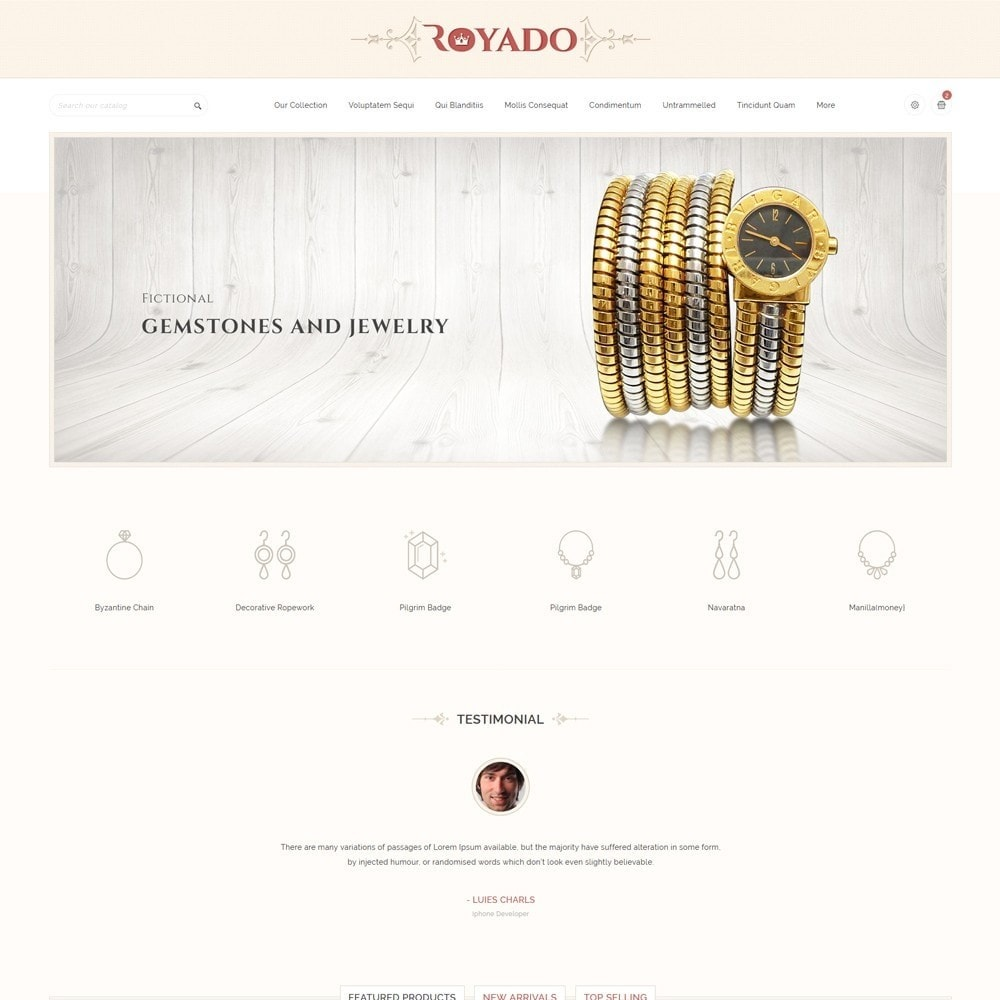 theme - Jewelry & Accessories - Royado - The Beauty Shop - 2