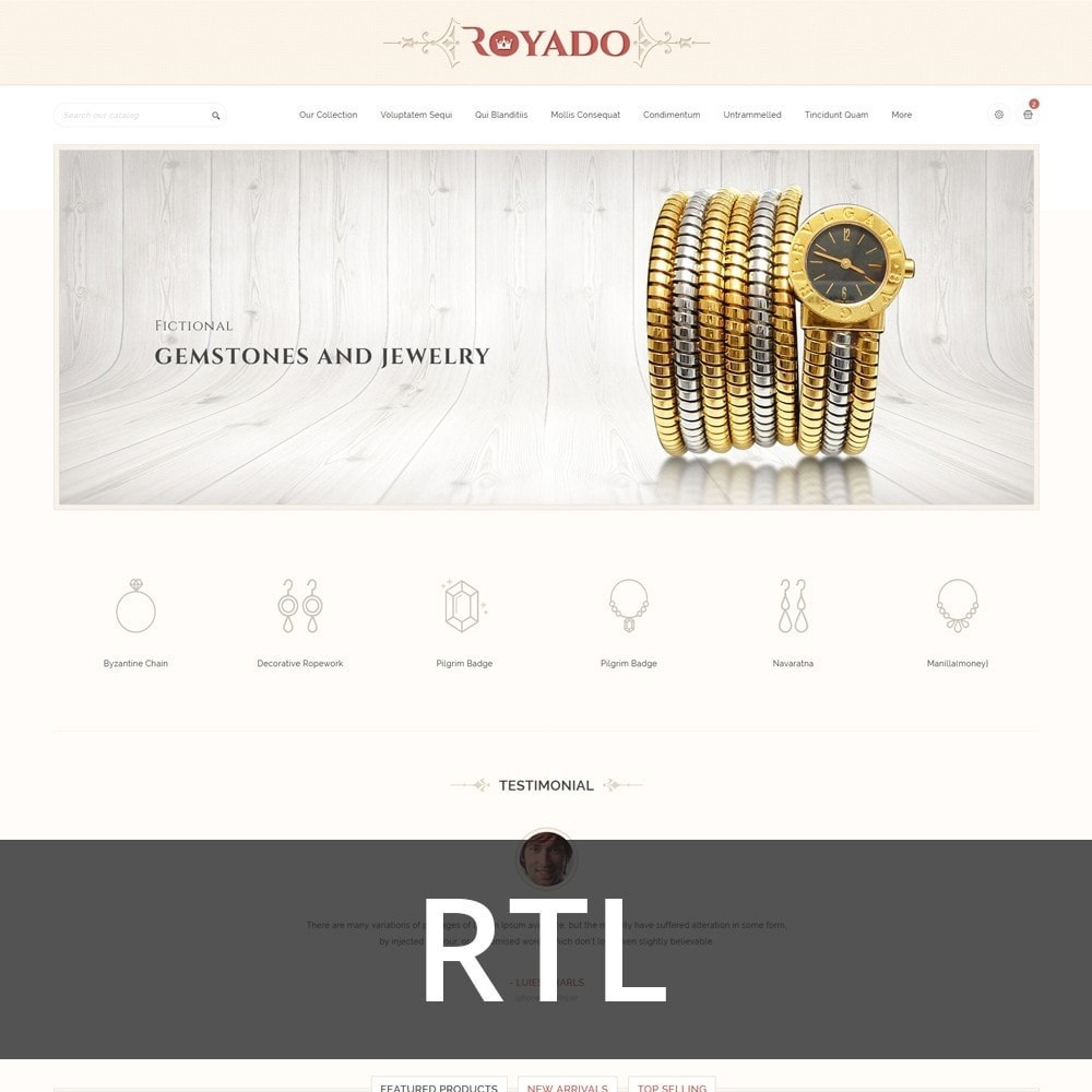 theme - Jewelry & Accessories - Royado - The Beauty Shop - 3
