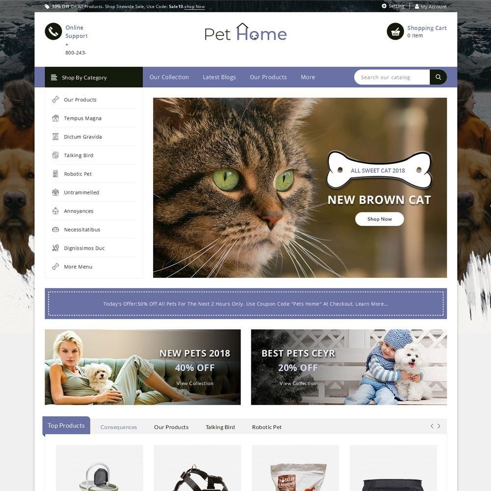 Pethome - The Animal Shop