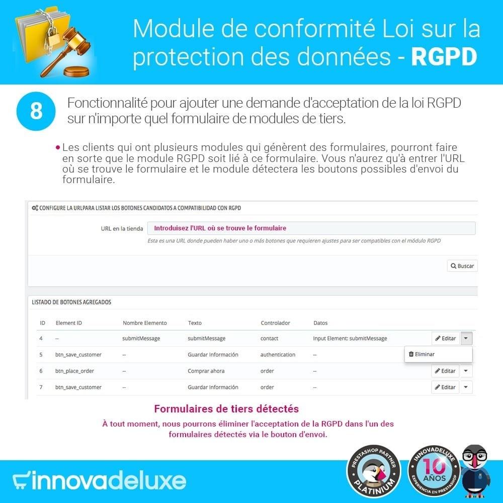 bundle - Législation - pour l'accomplissement des normes légales GDPR - 15
