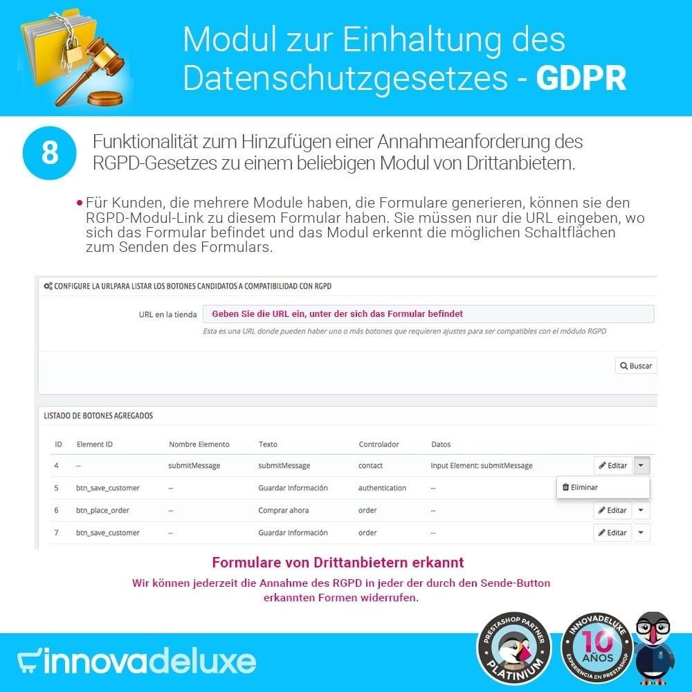 module - Rechtssicherheit - Einhaltung der Datenschutzgesetze - GDPR - 15