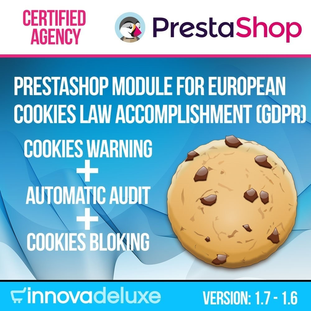 module - Wzmianki prawne - GDPR Cookies Law (Advice - Audit - Blocking) - 1