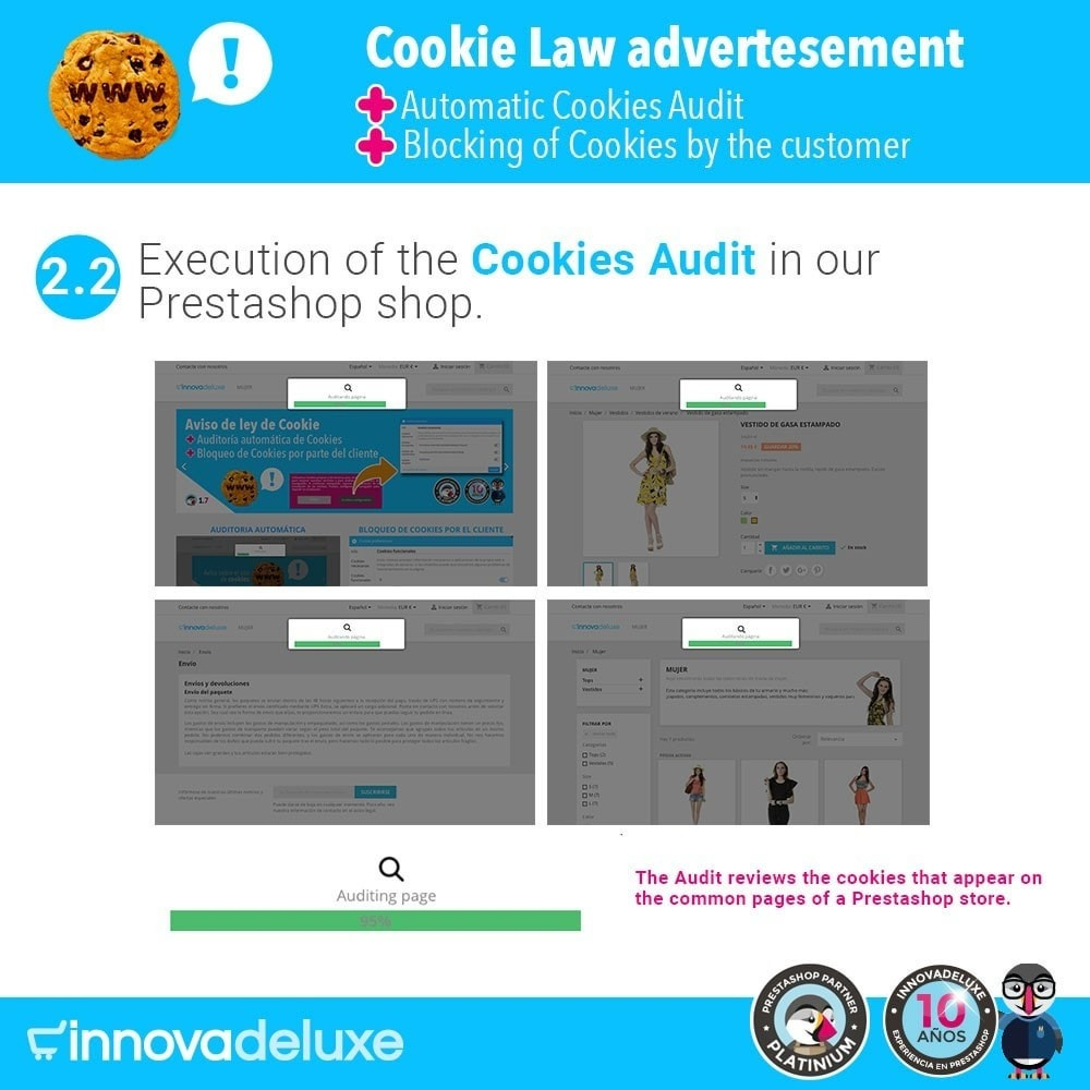 module - Wzmianki prawne - GDPR Cookies Law (Advice - Audit - Blocking) - 4