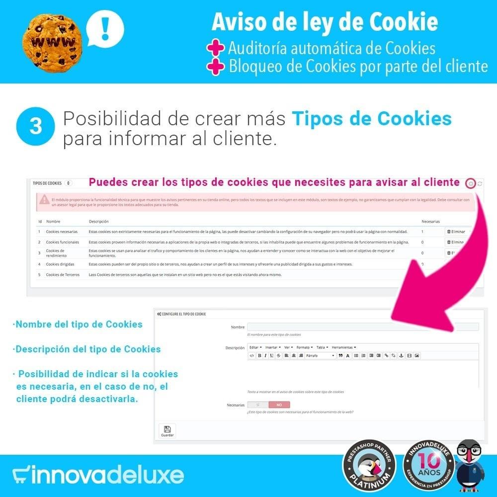 module - Marco Legal (Ley Europea) - Ley de Cookies RGPD/LOPD (Aviso - Auditoría - Bloqueo) - 5