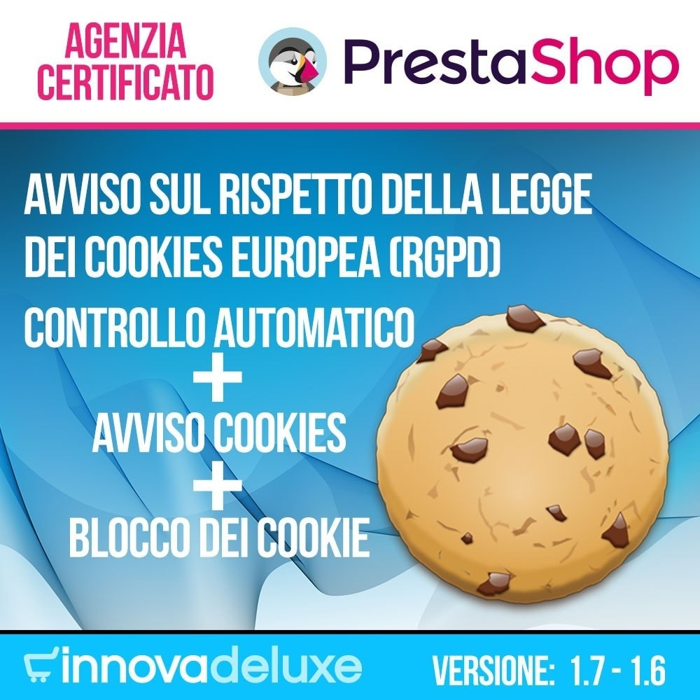 module - Legale (Legge Europea) - Legge sui cookie RGPD (Avviso - Controllo - Blocco) - 1