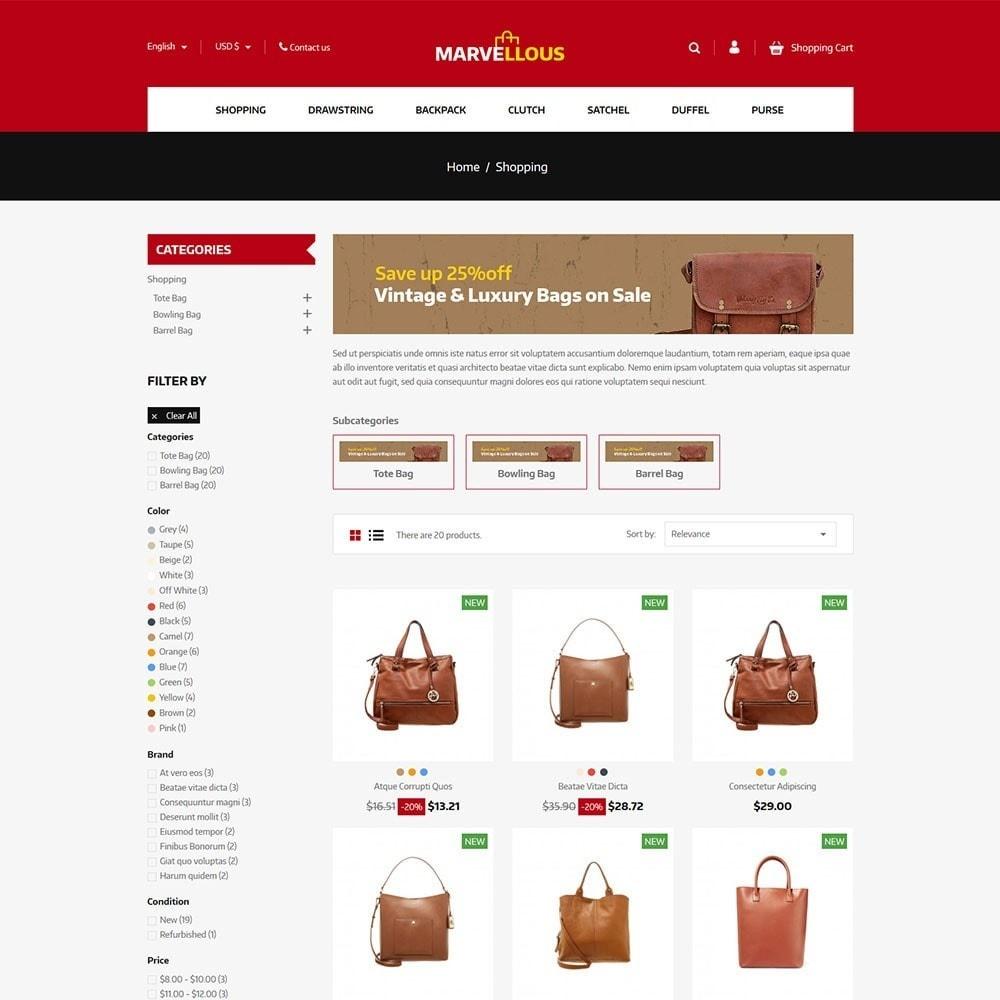 Marvellous - Bag Online Store