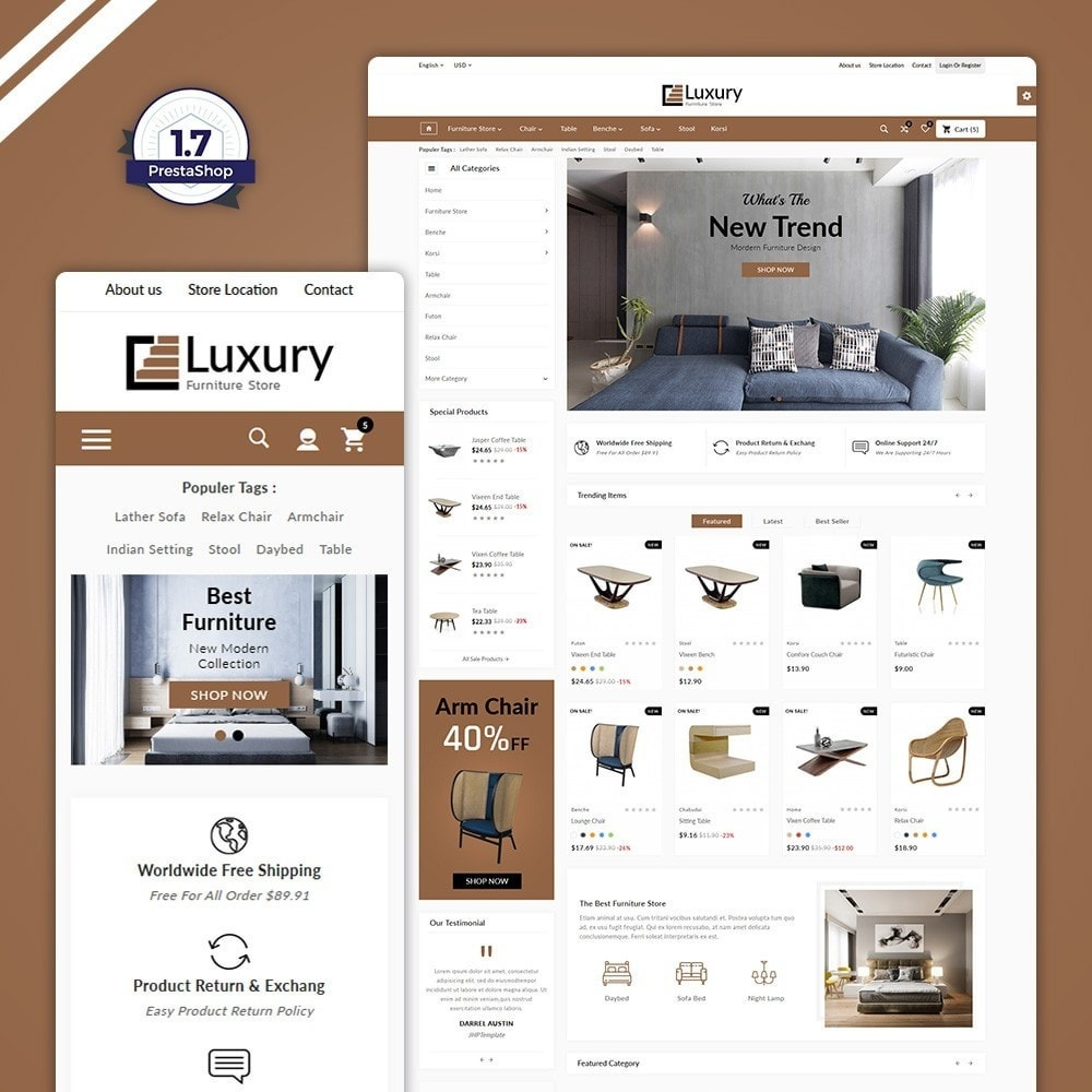 Wood Luxury -The Furniture Shop
