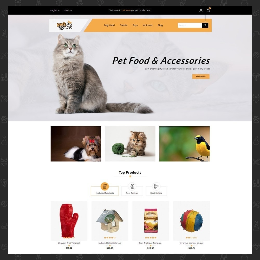 PrestaShop Animals & Pets Themes - PrestaShop Addons