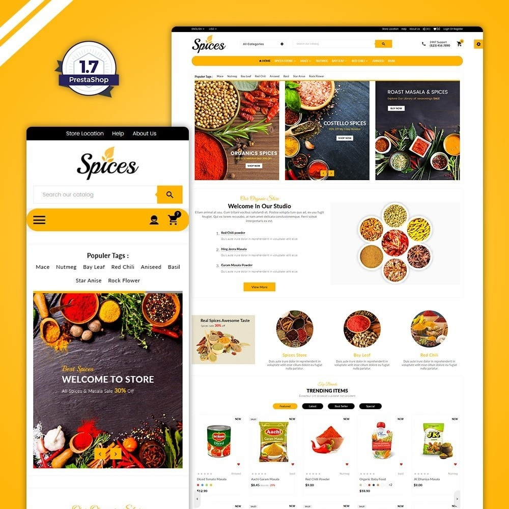 Spices - The Organic Shop