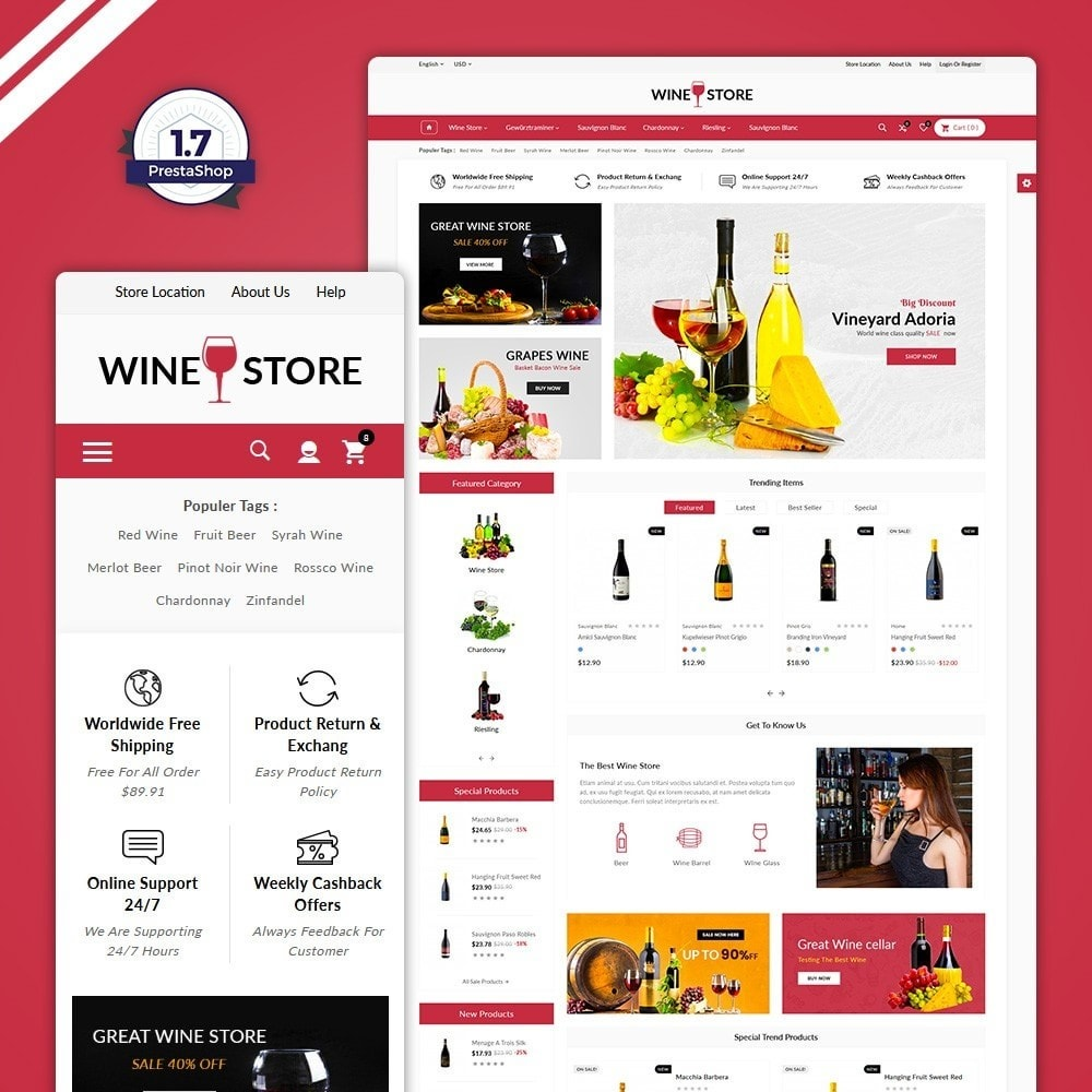 Red Wine Store