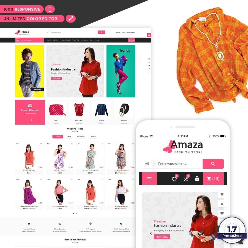 Amaza - The Fashion Mart Shop