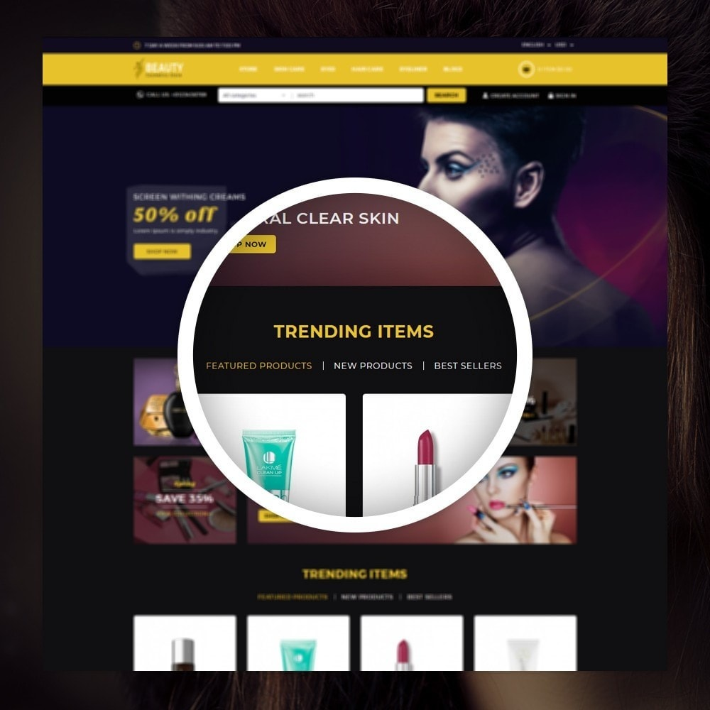 theme - Health & Beauty - Beauty - The Cosmetic Store - 9