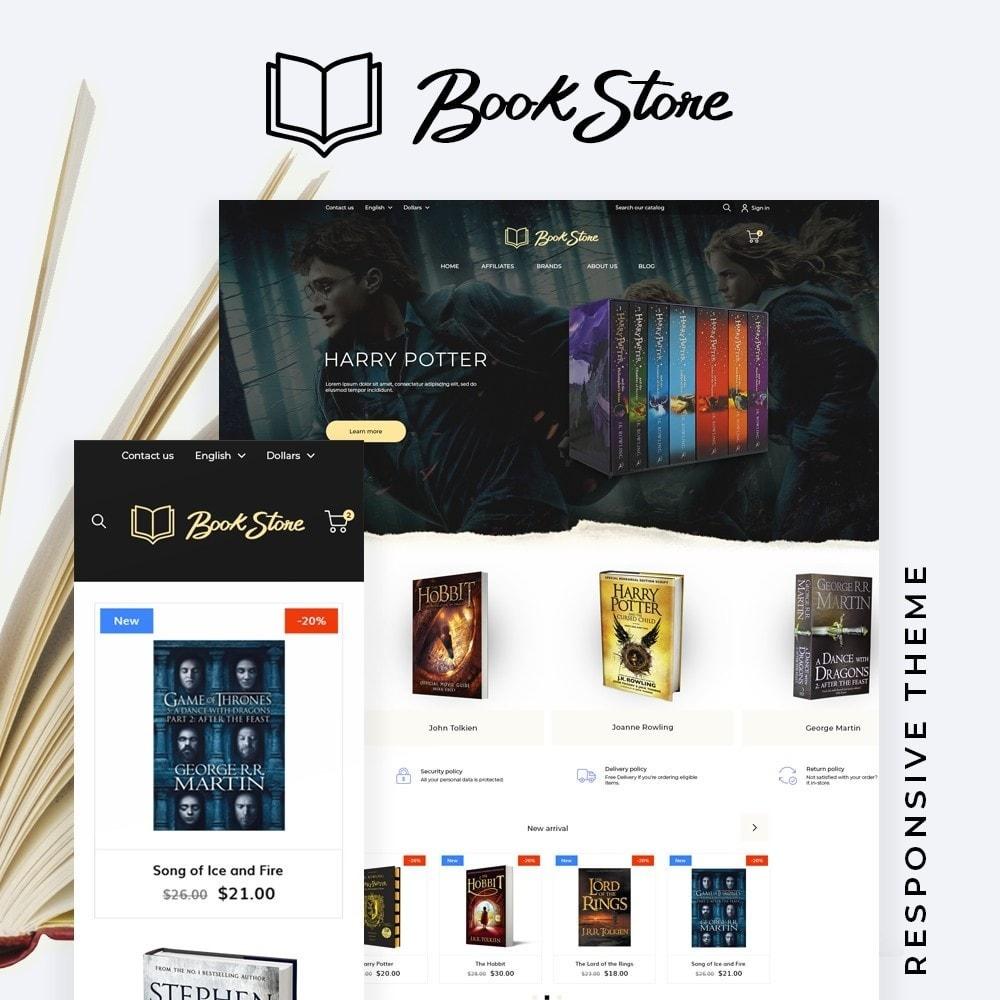 theme - Art & Culture - Book Store - 1