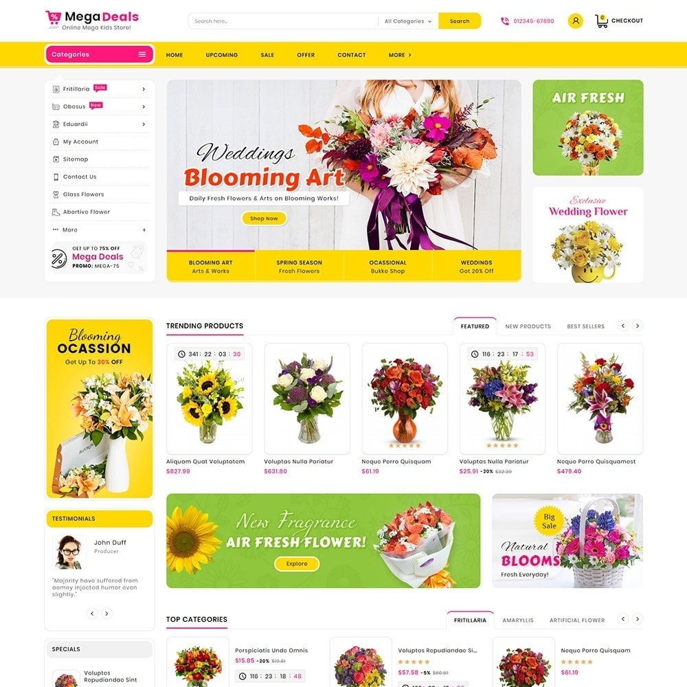 theme - Gifts, Flowers & Celebrations - Mega Deals Flower Art - 2