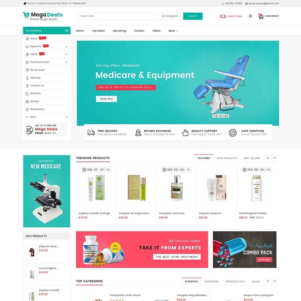 theme - Santé & Beauté - Mega Deals Medicine - 2