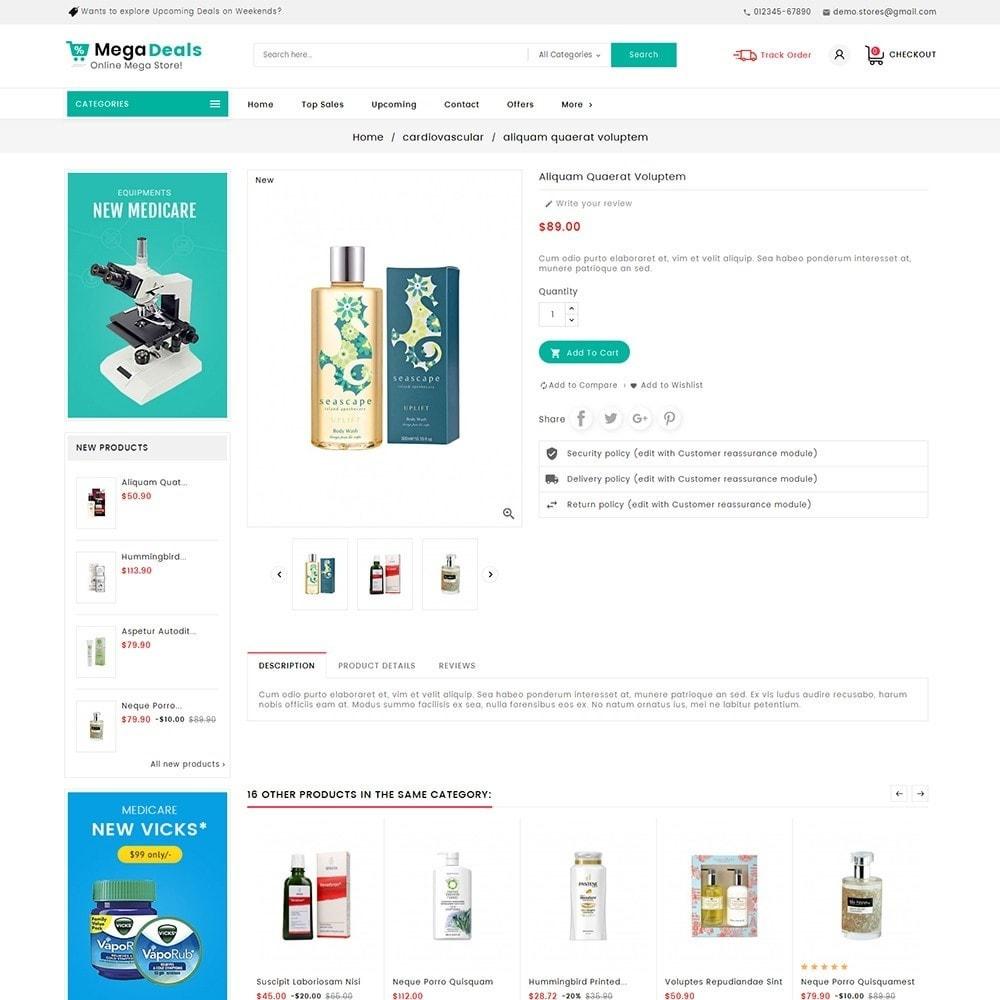 theme - Santé & Beauté - Mega Deals Medicine - 7