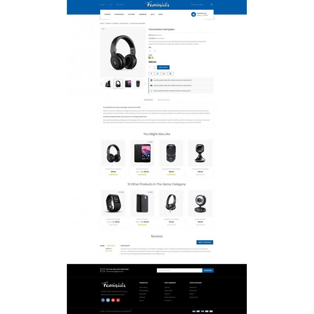 theme - Elektronika & High Tech - Feminista - Digital Store - 5