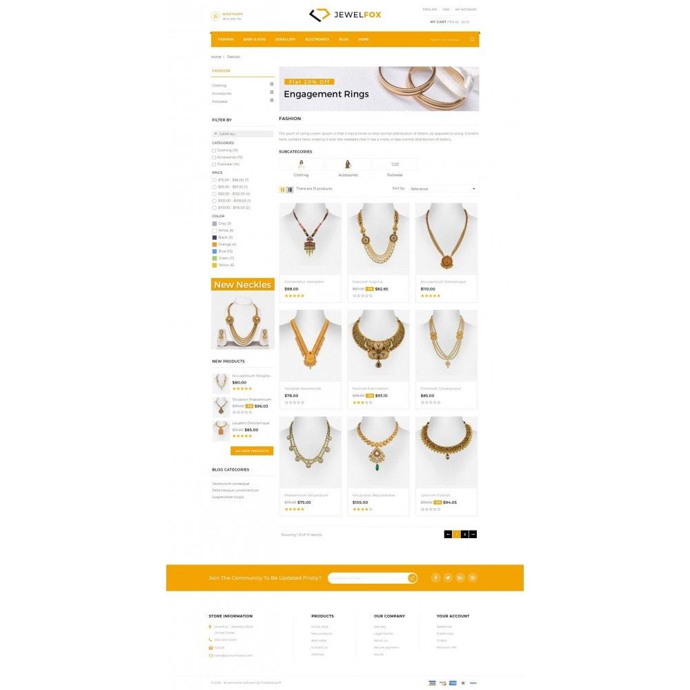 Jewelfox - Jewelry Store