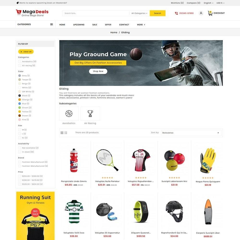 theme - Sport, Aktivitäten & Reise - Mega Sport Deals - 4