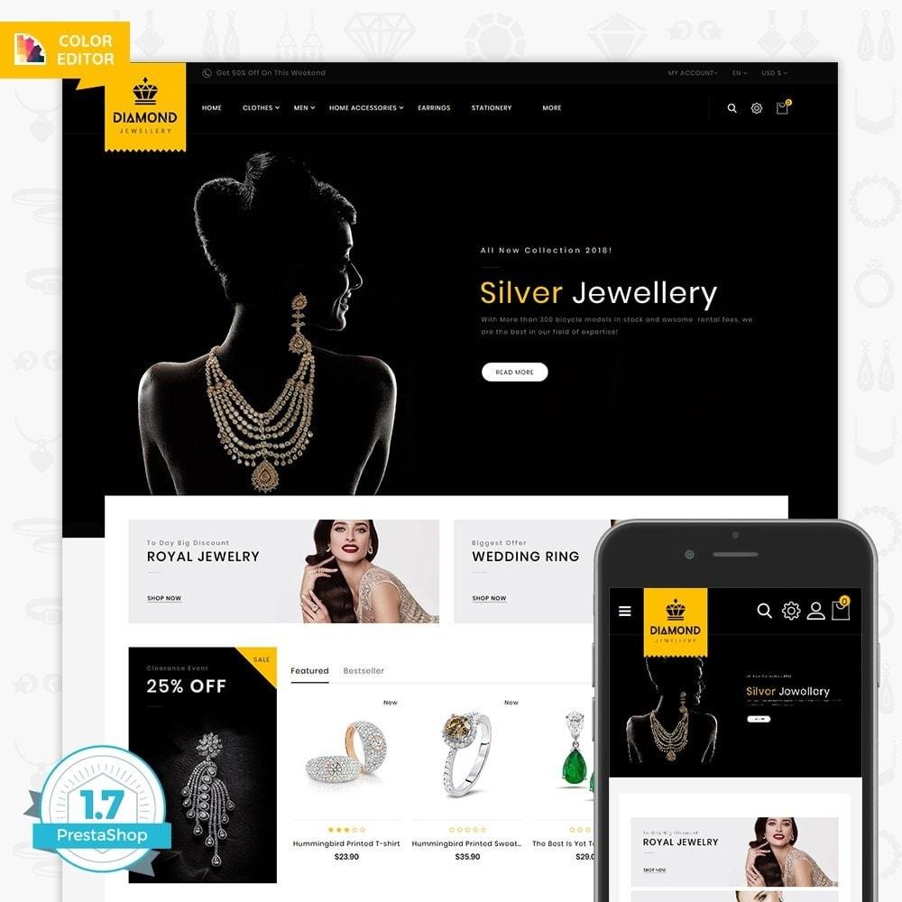 theme - Jewelry & Accessories - Diamond - Royal Jewellery Shop - 1