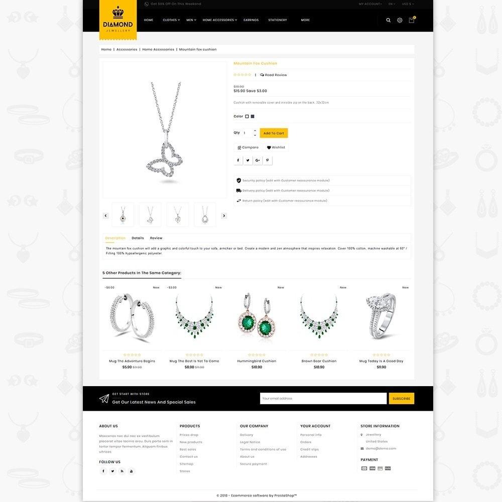 theme - Jewelry & Accessories - Diamond - Royal Jewellery Shop - 5