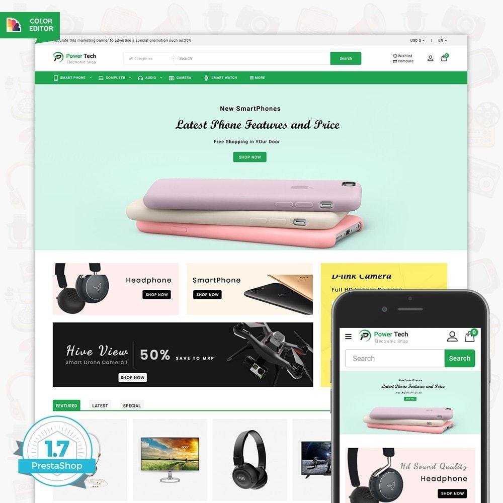 PowerTech - The Electronic Shop